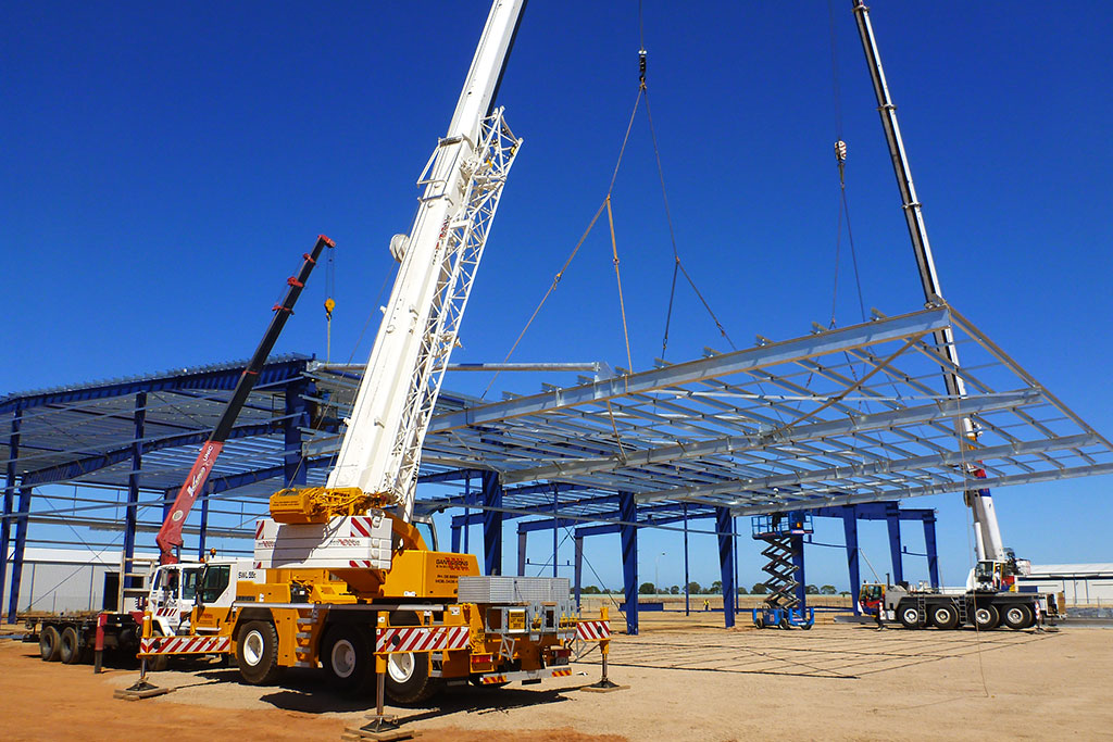 Crane And Steel Erection Company in Adelaide